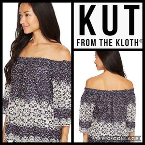 Kut from the Kloth Off the Shoulder Top